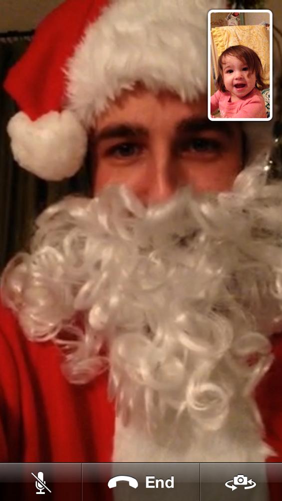 Santa Facetime