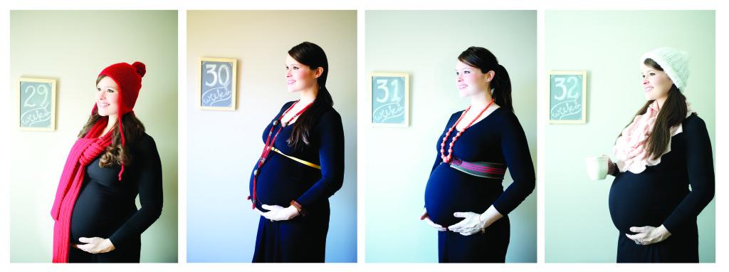 29 thru 32 Weeks Pregnant