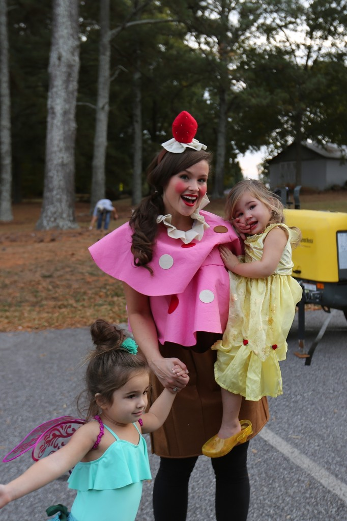 Preschool Halloween 2016 (A Princess + a Peacock Fairy)