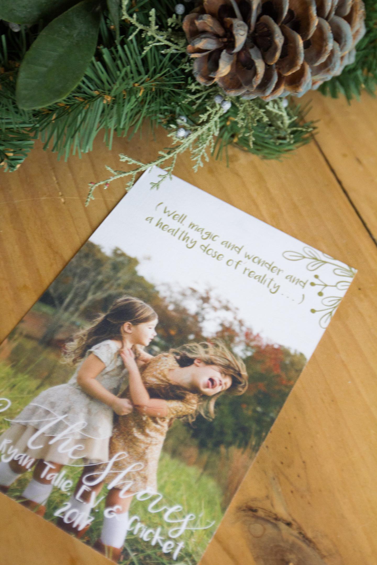 Christmas Card, O Christmas Card