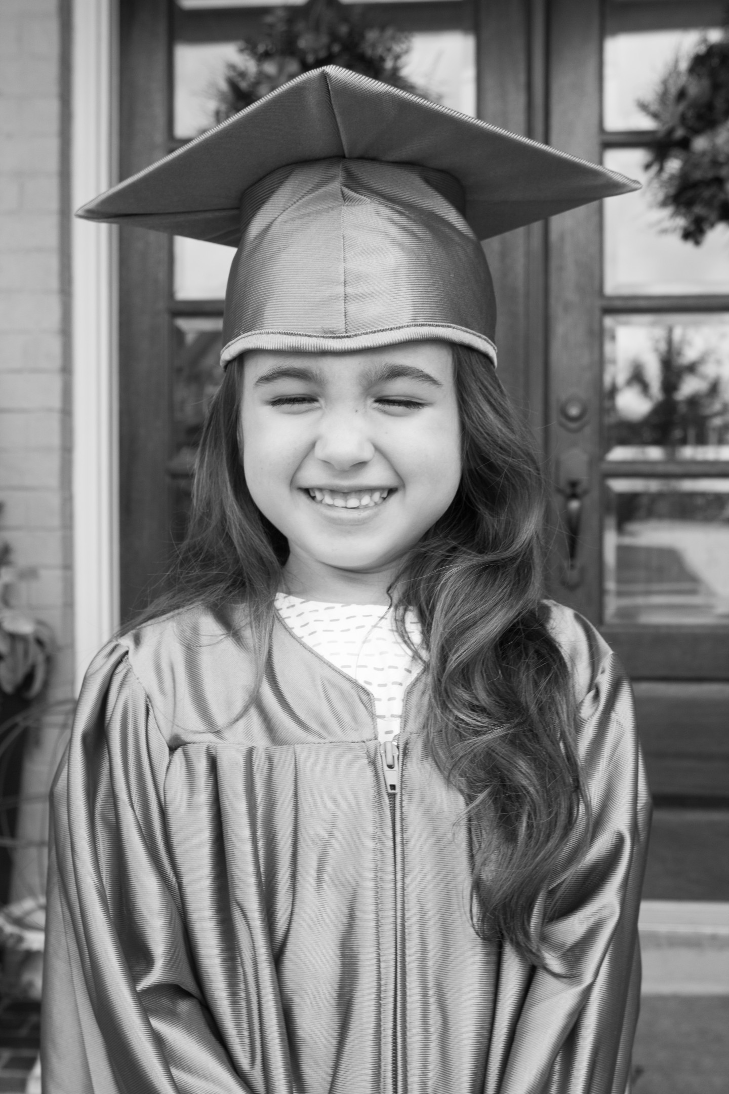 """Graduating with CHARACTER"" (E.V.'s Kindergarten Graduation)"