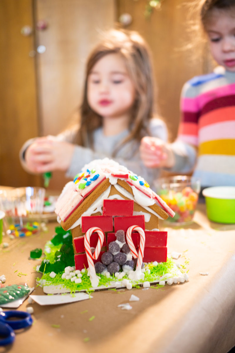 A Preschool Gingerbread House