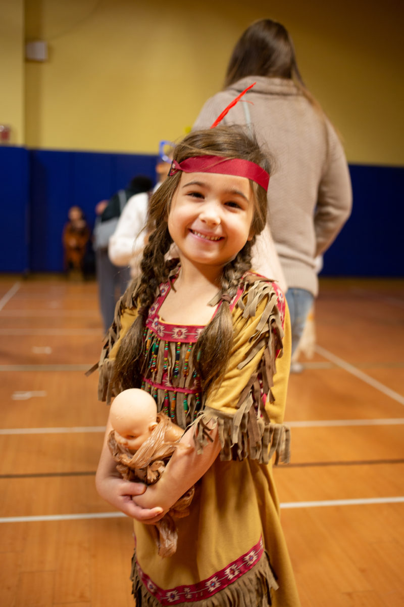 First Grade Wax Museum (E.V. as Sacagawea)